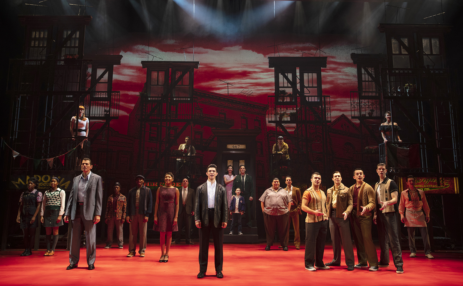A Bronx Tale The New Musical Media